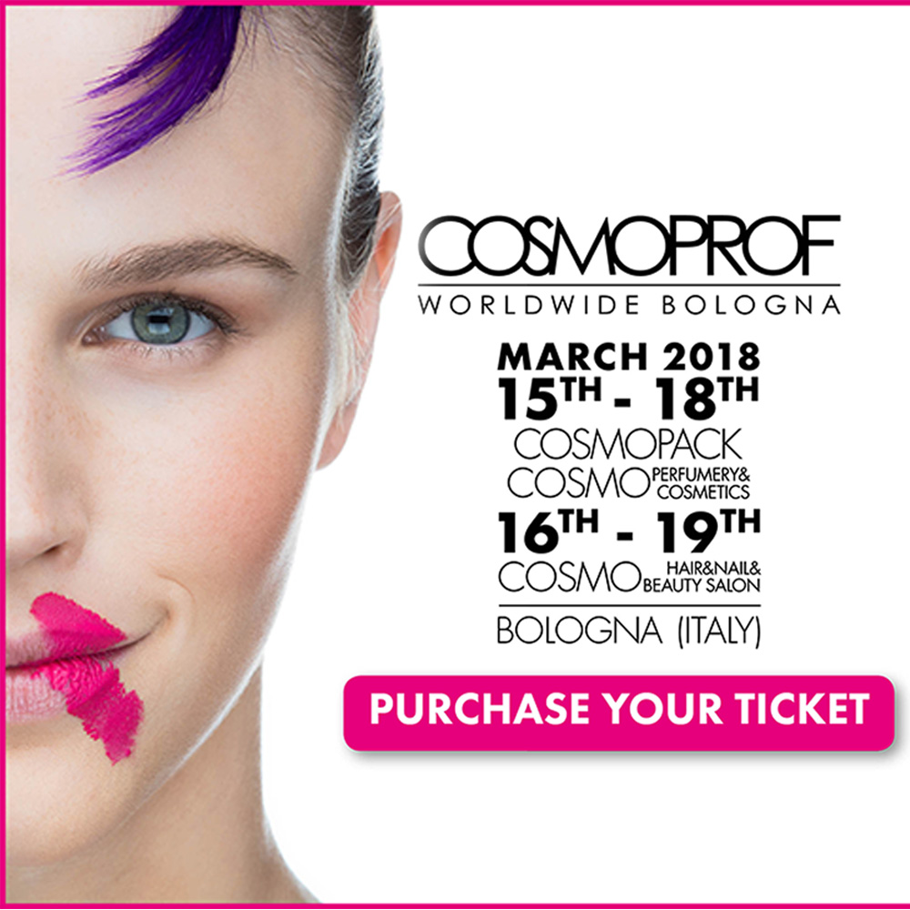 Waiting for you at Cosmoprof Worldwide Bologna