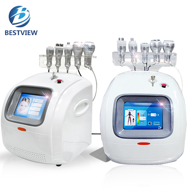 Brief Introduction of Cavitation + Radiofrequency Body Slimming Machine