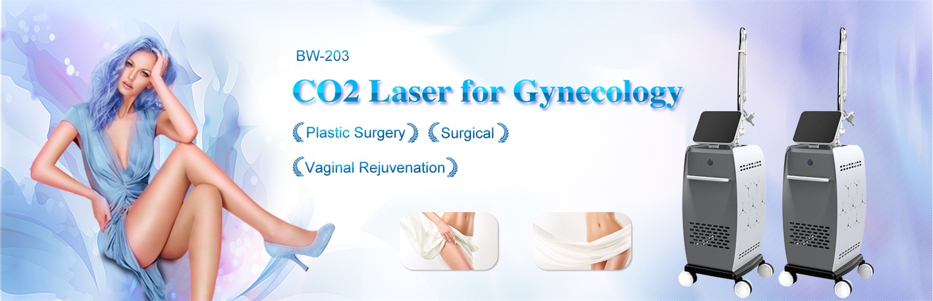 CO2 Laser For Gynecology Machine,
