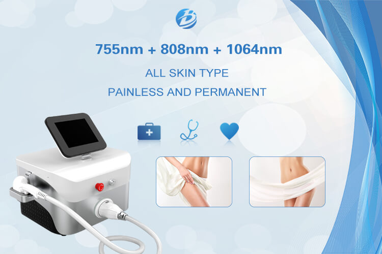 2019 new triple wavelength diode laser machine