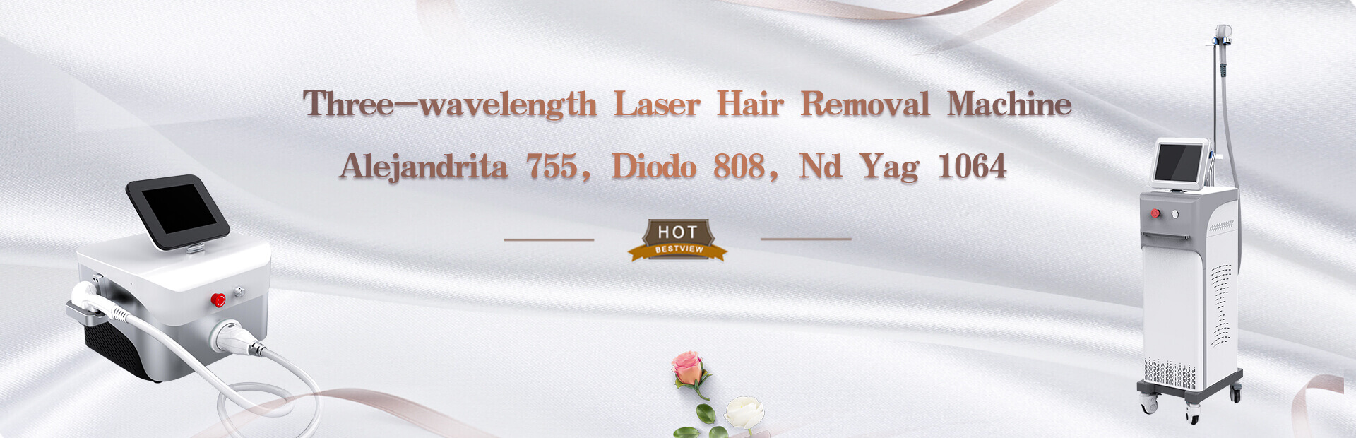 Three-wavelength Laser Hair Removal Machine   Alej