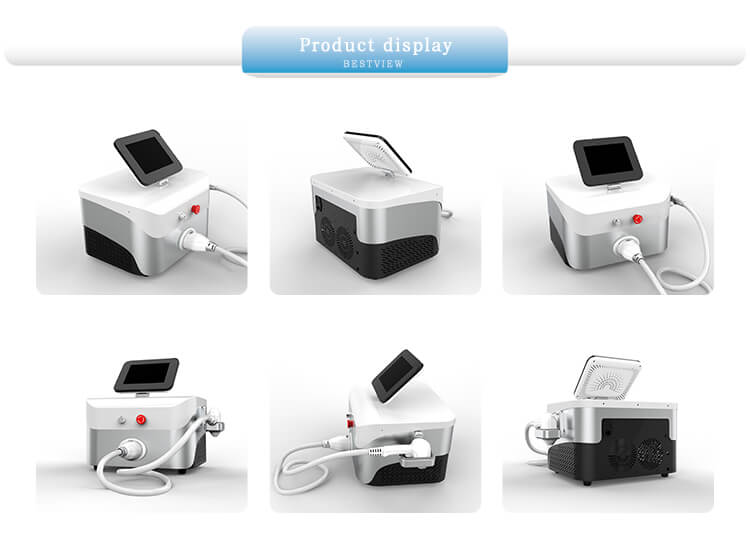 Description of 808nm 755nm 1064nm diode laser hair removal machine