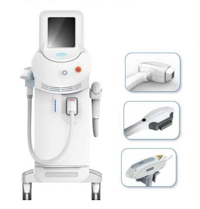 Diode Laser SHR Nd Yag Laser Multifunctional Machi...